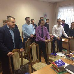 Сьогодні (04.04.17) КДКА Київської області приймає письмову частину екзамену