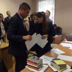 Сьогодні (16.05.2017) Кваліфікаційна палата КДКА Київської області приймає письмову частину іспиту