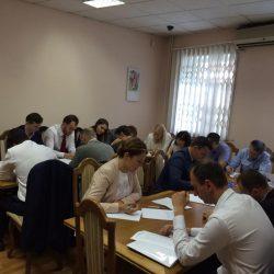 Сьогодні (15.06.2017) Кваліфікаційна палата КДКА Київської області приймає усну частину іспиту
