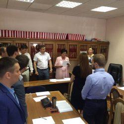 Сьогодні (18.07.2017) Кваліфікаційна палата КДКА Київської області приймає усну частину іспиту
