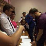 Сьогодні (11.07.2017) Кваліфікаційна палата КДКА Київської області приймає письмову частину іспиту