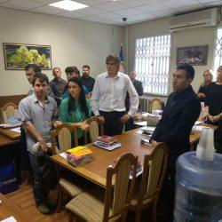 Сьогодні (5.09.2017) Кваліфікаційна палата КДКА Київської області приймає письмову частину іспиту