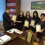 Сьогодні (19.12.2017) голова КДКА Київської області вручив Подяки за сумлінну працю та відданість справі працівникам секретаріату.