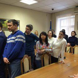 Сьогодні (13.02.2018) Кваліфікаційна палата КДКА Київської області приймає усну частину іспиту.