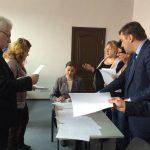 Сьогодні (13.02.2018) Кваліфікаційна палата КДКА Київської області приймає письмову частину іспиту.