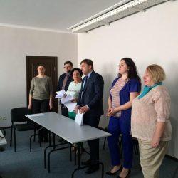 Сьогодні (11.04.2018) Кваліфікаційна палата КДКА Київської області приймає усну частину іспиту.
