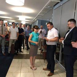 Видача свідоцтв про успішне складення кваліфікаційного іспиту 21.05.2019 року.